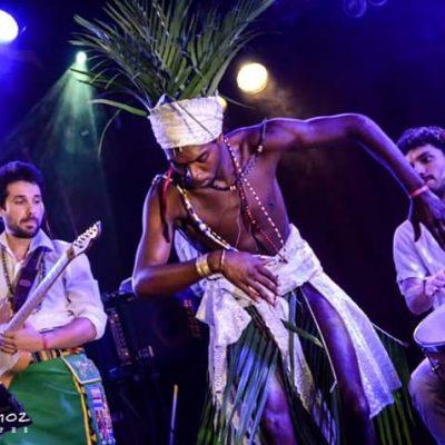 Danse des orixás sur scène